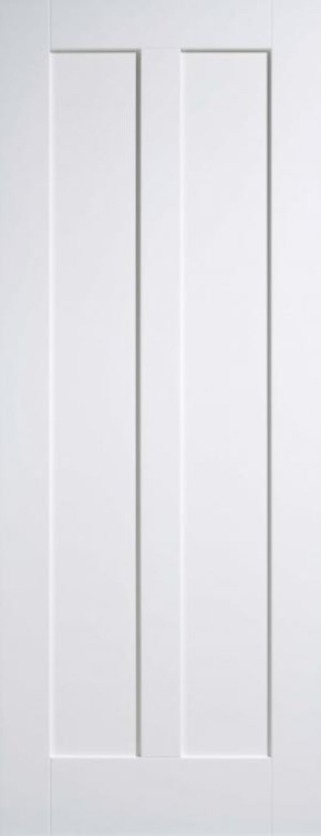 Maine 2 Panel White Primed Door