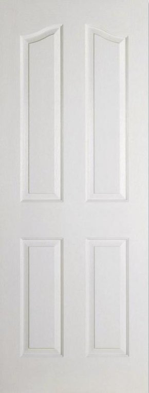 Mayfair 4P Shaped top white moulded