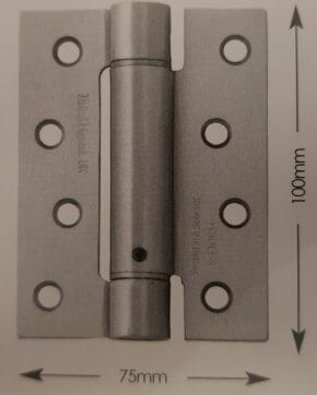100mm Adjustable Spring Hinge Pairs