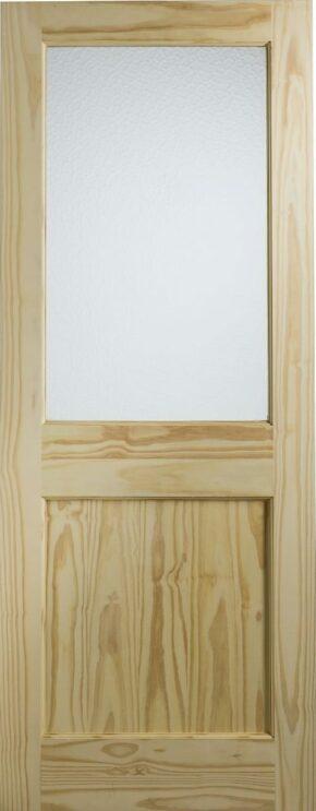 Softwood 2XG Single Glazed With Flemish Glass