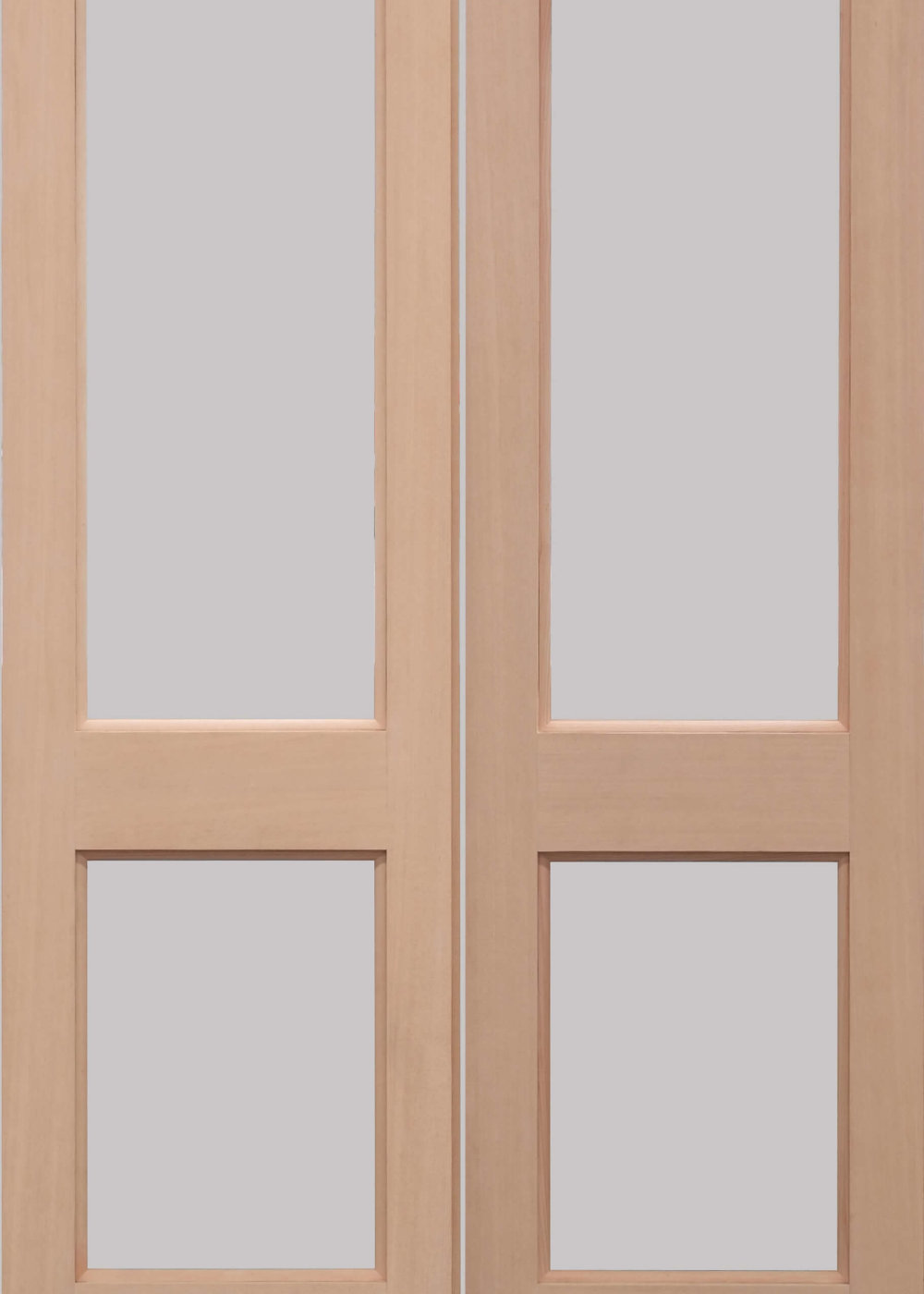 Hemlock 2xgg External Door Pair Trading Doors