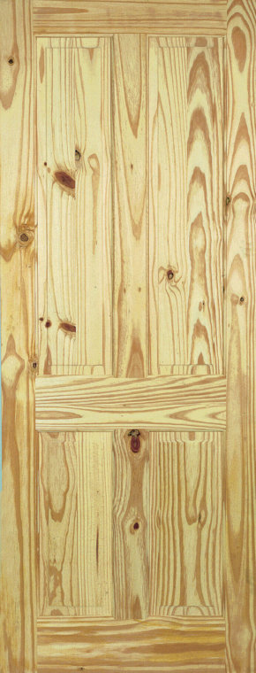 4 Panel Knotty Pine