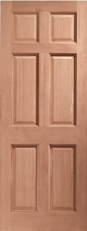 Colonial 6 Panel Hardwood External