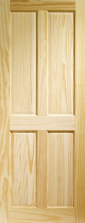 Victorian 4 Panel Clear Pine