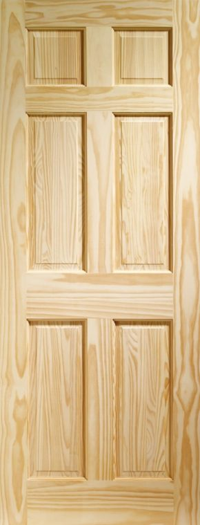 Colonial 6 Panel Clear Pine