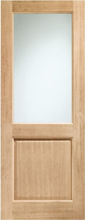 2XG Oak External Clear Glass