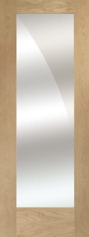 Pattern 10 Unfinished Oak Mirror