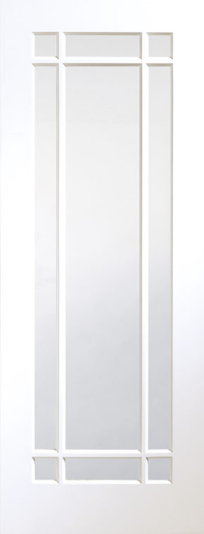 Cheshire Clear Glass White Primed