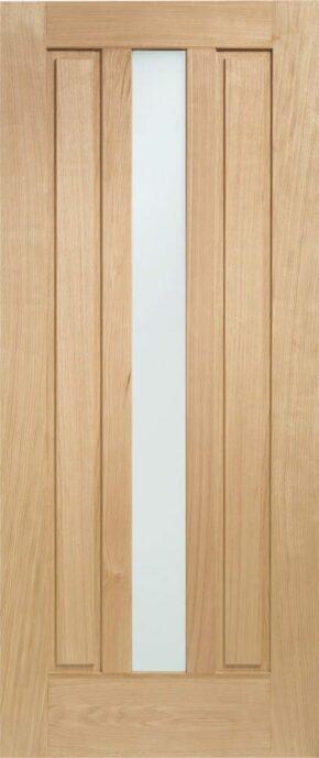 Padova Oak External Obscure Glass