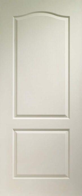 Classique 2 Panel White Primed