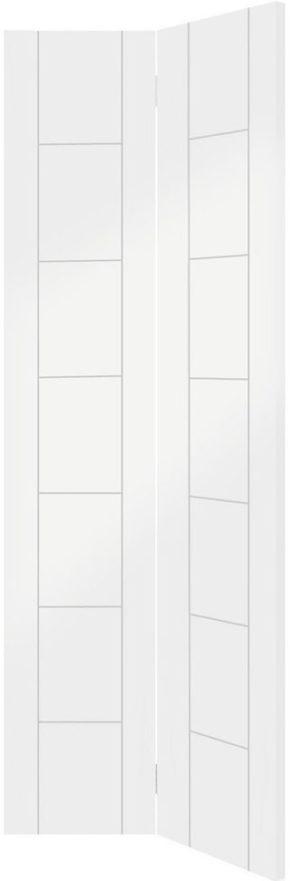 Palermo White Primed Bi-Fold