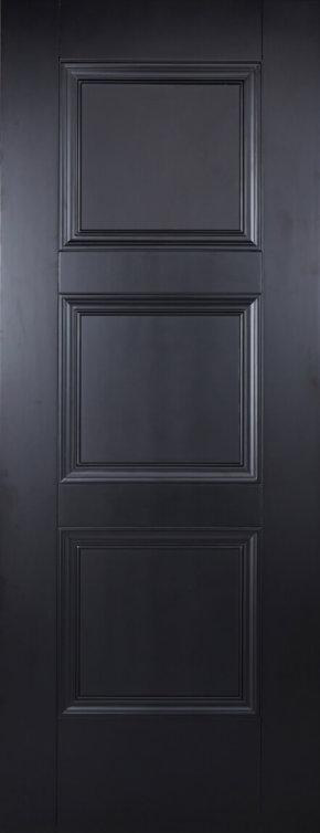 Amsterdam 3 Panel Black Primed