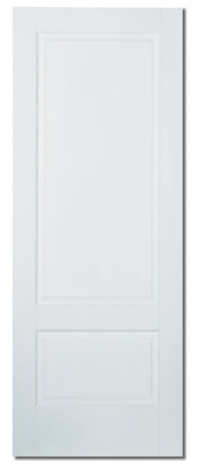 Brooklyn 2 Panel Solid White Primed
