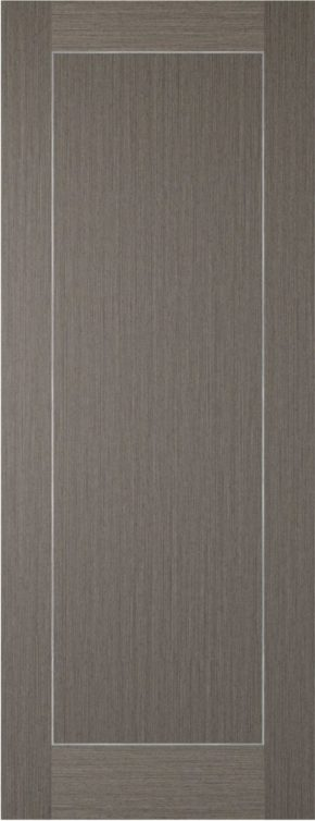 Chocolate Grey Inlay 1 Panel Door
