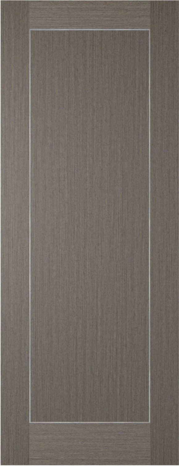 Chocolate Grey Inlay 1 Panel Door