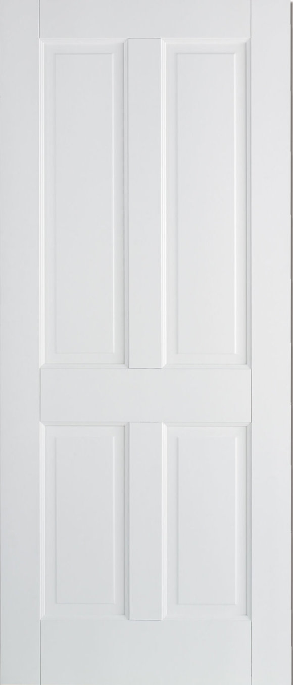 Canterbury Solid White Primed 4 Panel