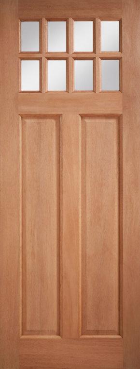 Chigwell Hardwood Clear Glazed Door