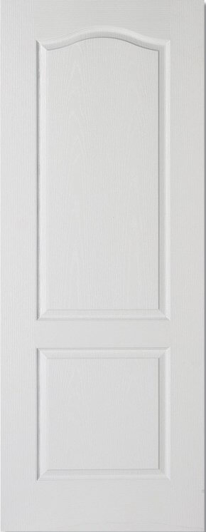 Classical 2 Panel White Moulded