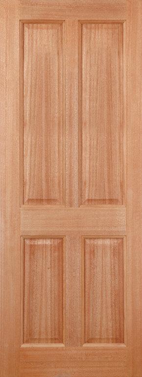 Colonial 4 Panel M&T Hardwood Door