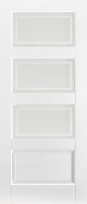 Contemporary White Primed 3L Glazed 1 Panel