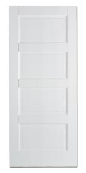 Contemporary White Primed 4P