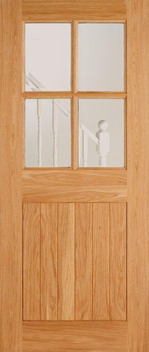 Oak 4 Light Cottage Style External