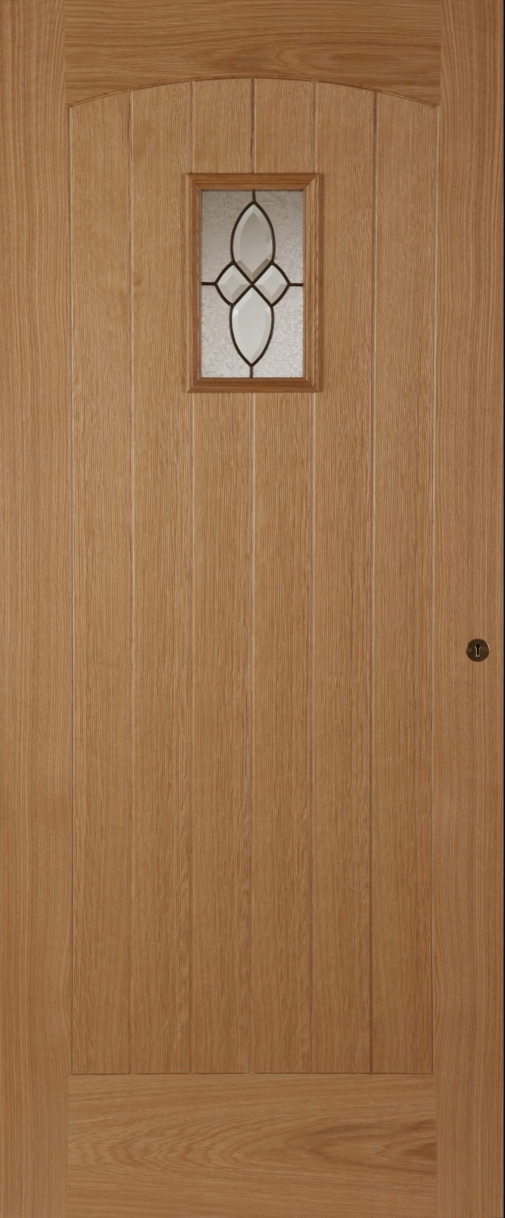 Oak Cottage Triple Glazed External Door Trading Doors
