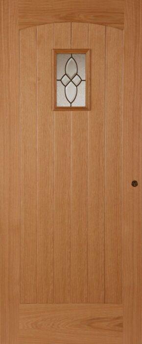 Oak Cottage Triple Glazed External Door