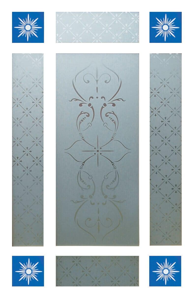 9 Piece Glass Pack for Downham Doors  sc 1 st  Trading Doors & 9 Piece Glass Pack for Downham Doors - Trading Doors