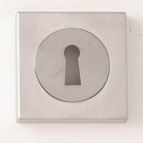 Square Standard Keyhole Profile Escutcheon