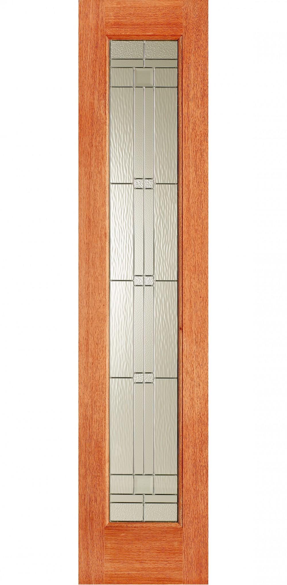 Elegant Ig Zinc Leaded Hardwood Sidelight Trading Doors