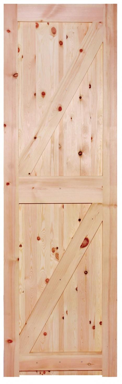 Redwood Framed Ledged And Braced Door Trading Doors