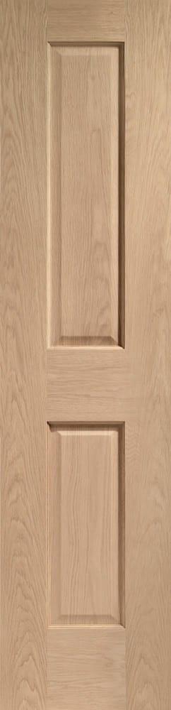 Victorian 2 Panel Oak