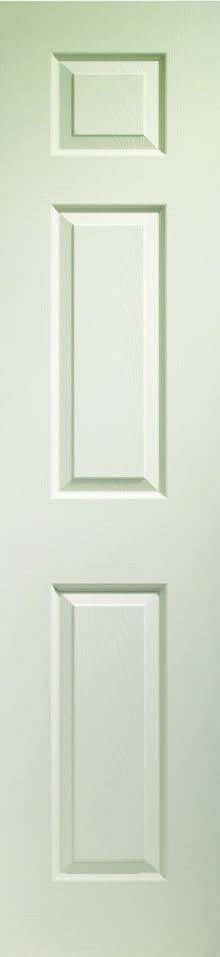 Colonist 3 Panel White Primed