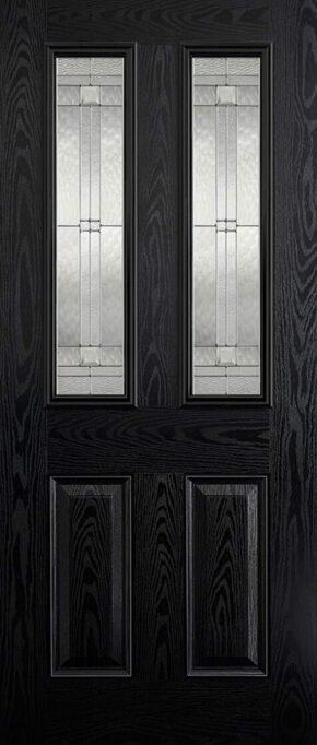 Malton Black and White Glazed