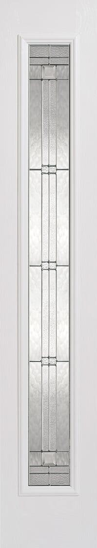 Elegant White Sidelight
