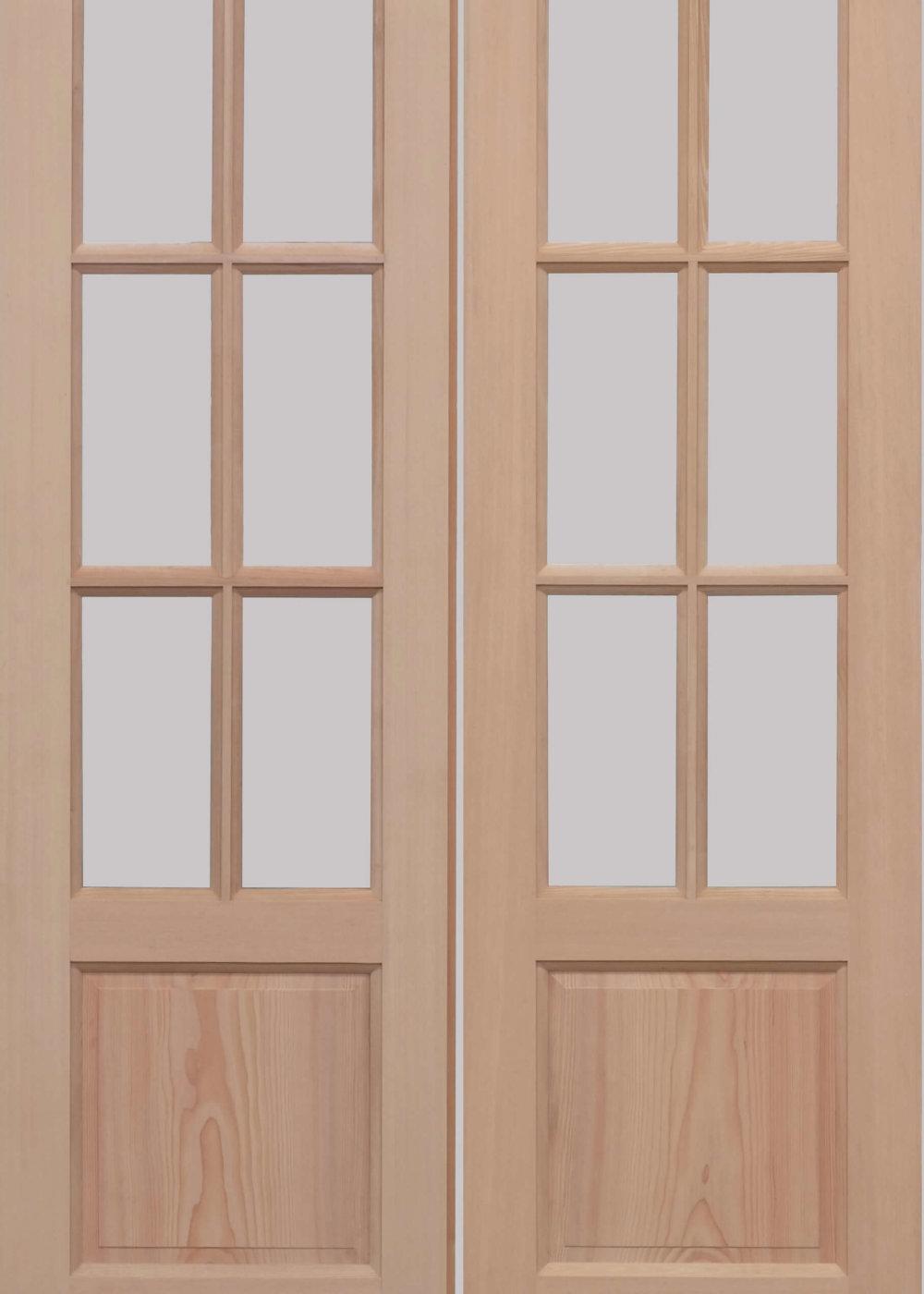 Hemlock GTP 2 Panel External Door Pair Trading Doors