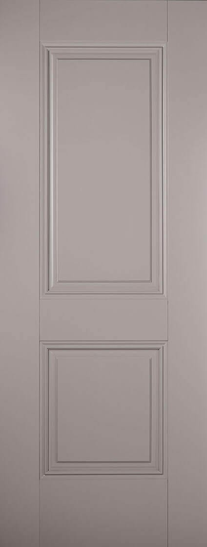 Arnhem 2 panel Grey Primed