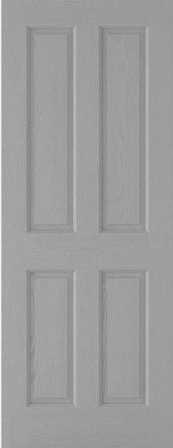 Textured 4 Panel Grey
