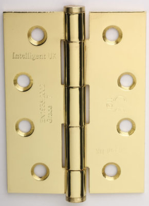 100mm Strong Steel Button Tipped Hinge Pairs