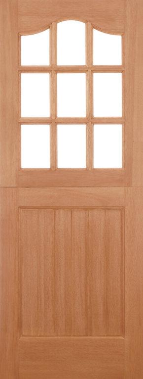 Stable 9 Light Dowelled Hardwood External