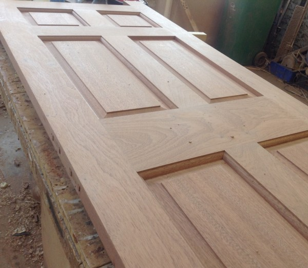 Bespoke Hardwood 6 Panel External Door