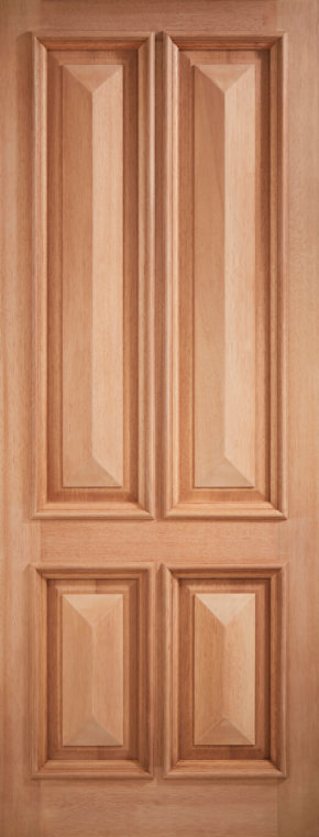 Islington M&T hardwood door