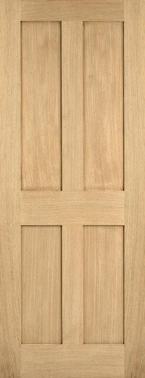 London Oak 4 Panel Shaker