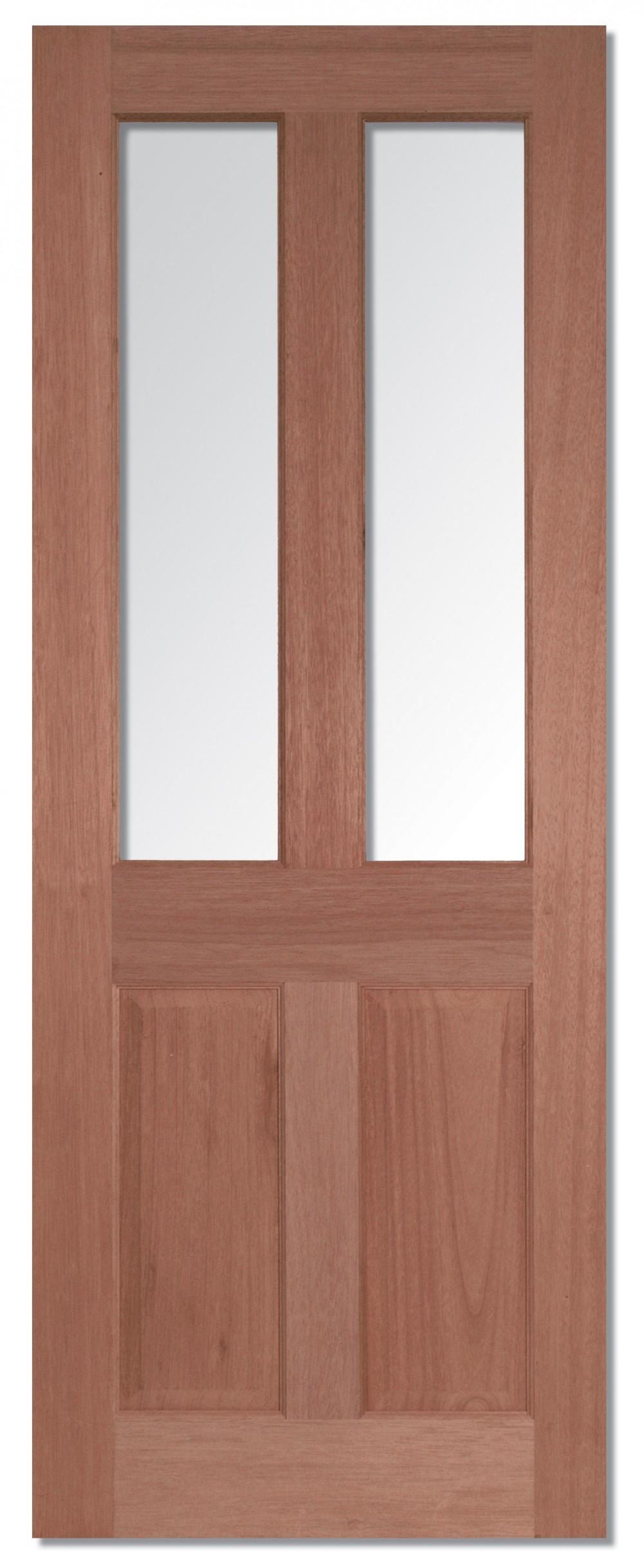 Malton Hardwood Obscure Double Glazed Trading Doors