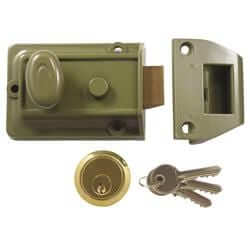 Traditional Cylinder Rim Nightlatch