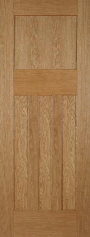 Oak 1930 4 Panel Door