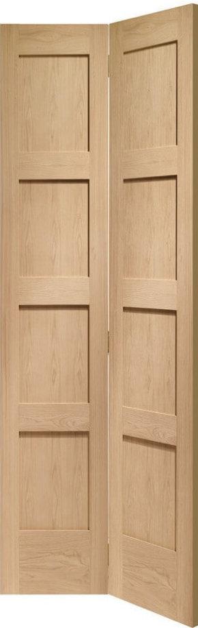 Oak Bi-fold Shaker