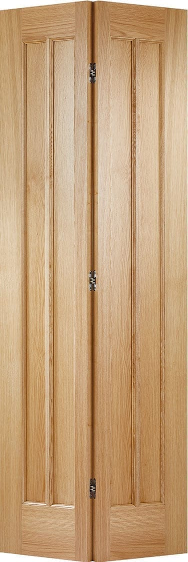 Oak Lincoln 3 Panel Bi-fold