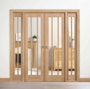 Oak Lincoln W6 Room Divider
